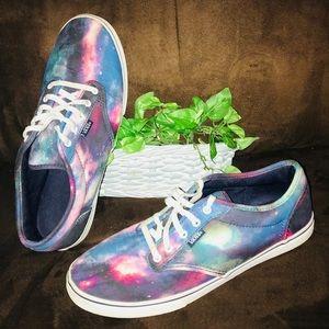 Cool Tie-Dye Cosmos Vans Sz9